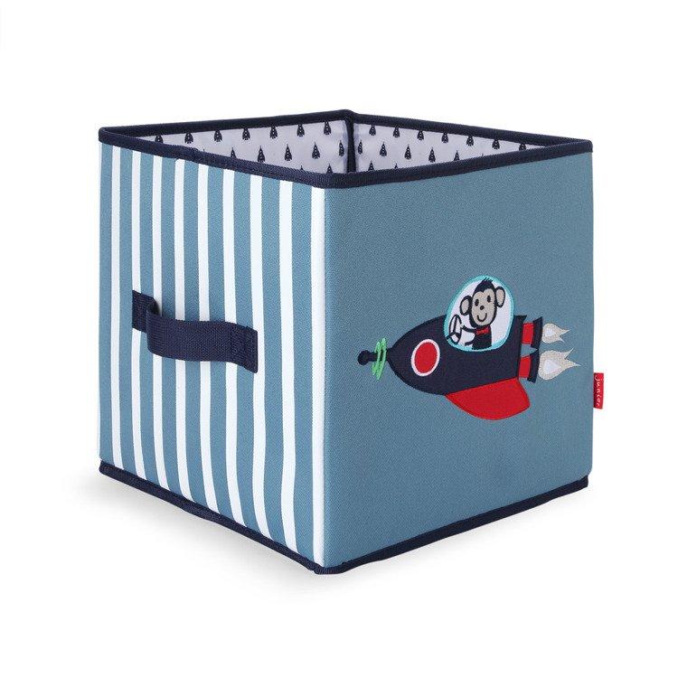 c87242f57b58d Składane pudło niebieski w małpki Penny Scallan - przydatne gadżety ...