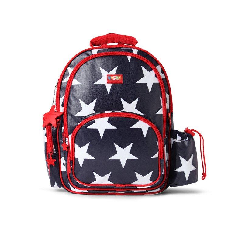 9dd0bf02432b6 ... Duży plecak z kieszeniami granatowy w gwiazdy Penny Scallan ...