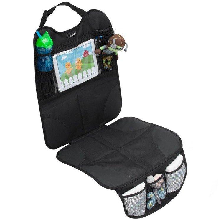 Ochronna Mata Do Samochodu Z Miejscem Na Tablet Do Fotelików Tyłem I