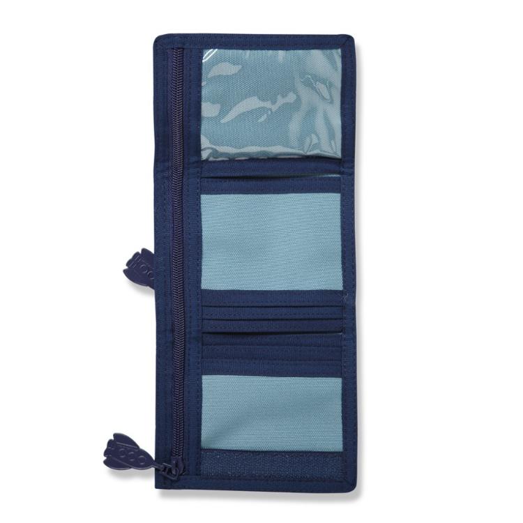 21125a47f2ed9 Portfel dla chłopca niebieski w małpki Penny Scallan - przydatne ...
