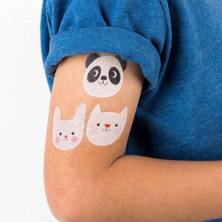 Tatuaże Zmywalne Dla Dzieci Miko I Przyjaciele Rex London