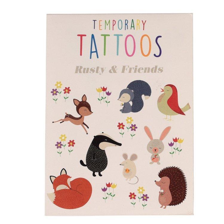 Tatuaże Zmywalne Dla Dzieci Przyjaciele Rex London