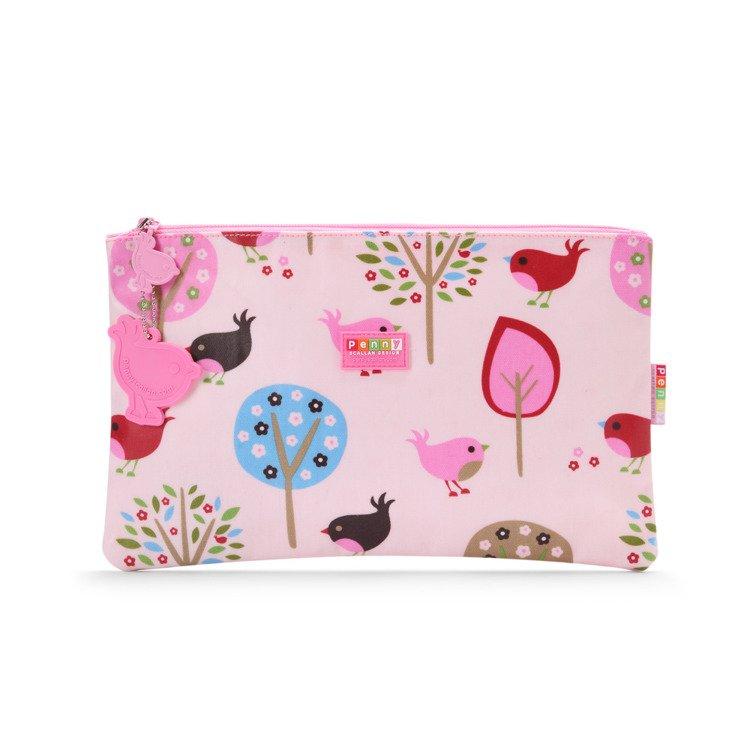 9eed83268e2e6 Wielofunkcyjny portfel różowy w ptaszki Penny Scallan - przydatne ...